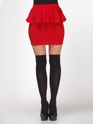 Красная Юбка с баской / Одежда, достойная восхищения. Изысканные платья и юбки от 195 грн / Одежда и обувь